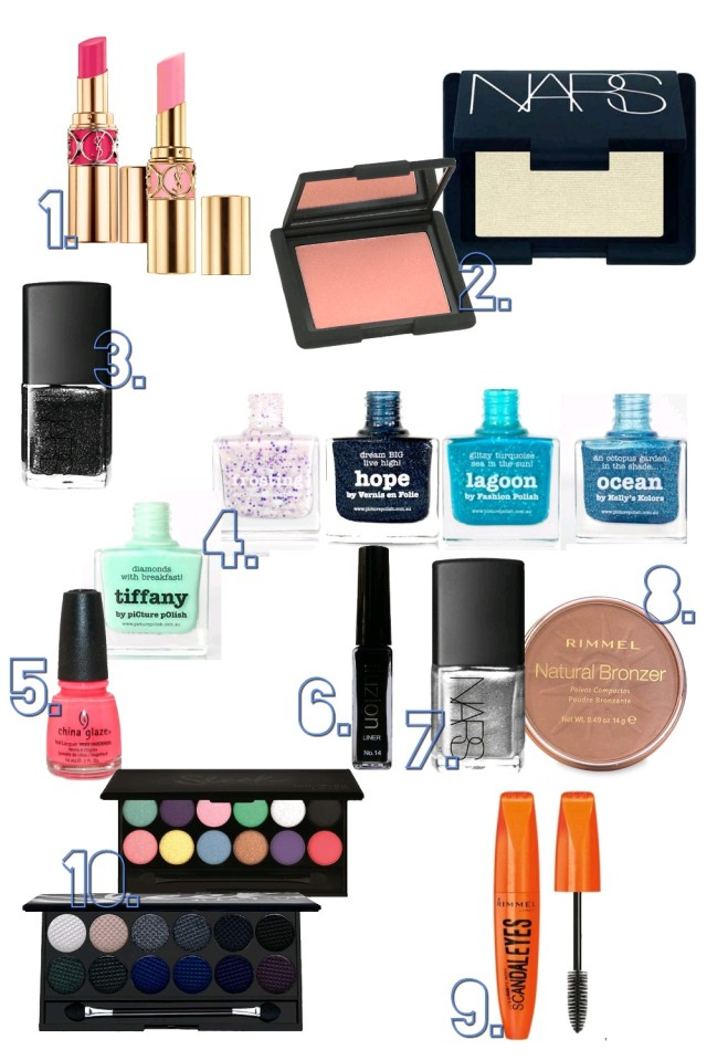 Wishlist make up